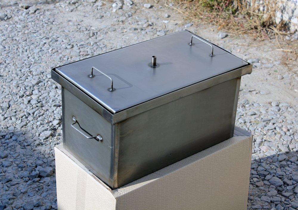 Купить коптильню для рыбы горячего копчения самогонный аппарат люкссталь отзывы и цена