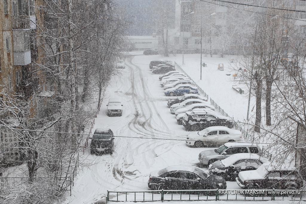 Снег в Первоуральске будет идти до вечера среды