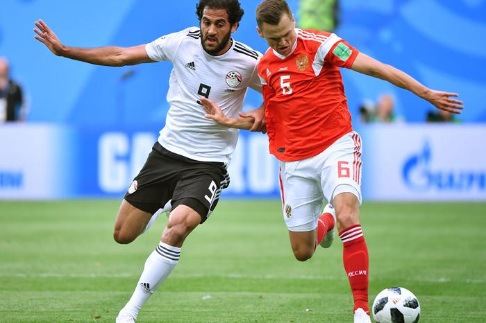 Россия обыграла Египет на ЧМ-2018 по футболу