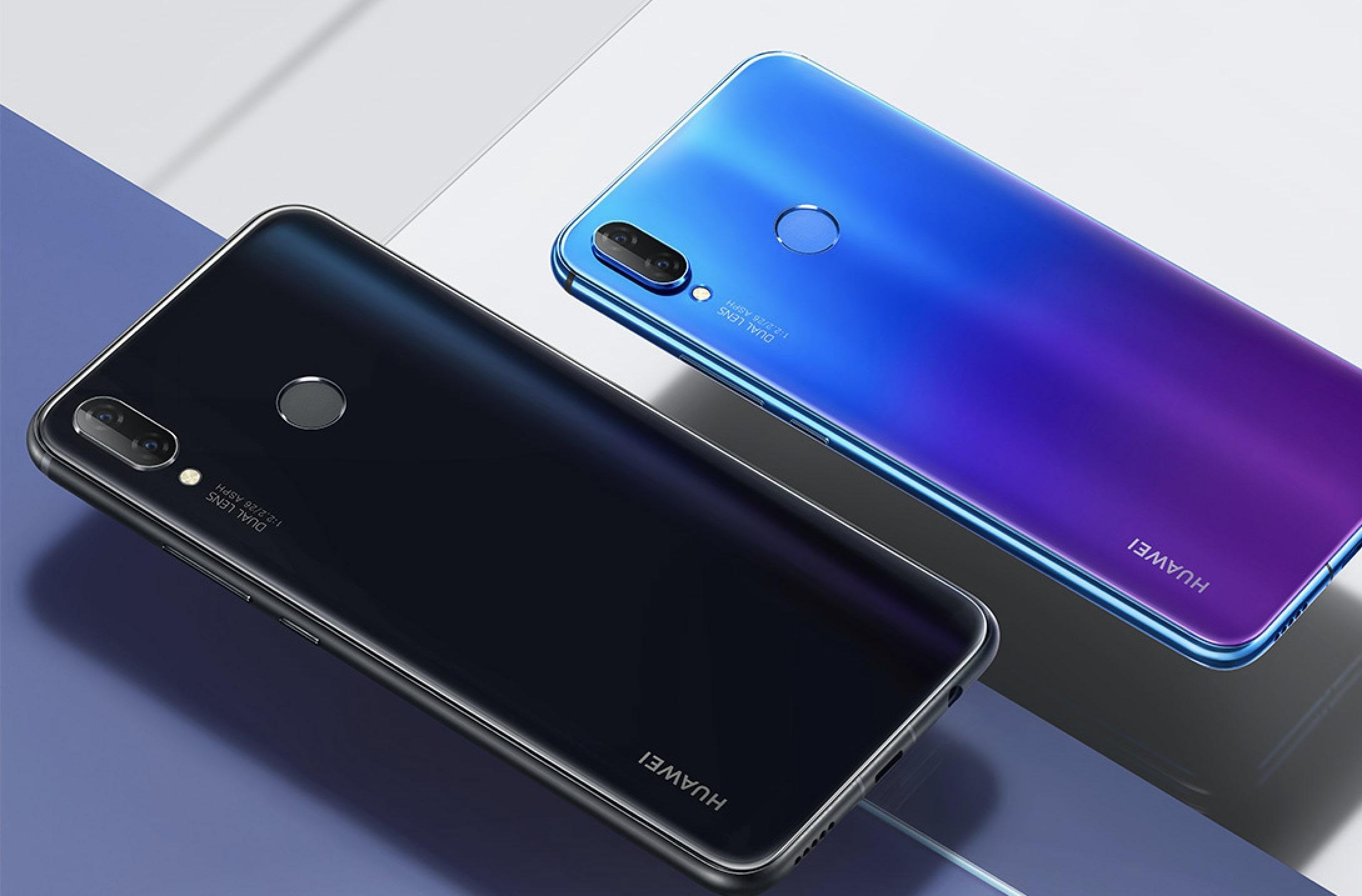 Смартфон Huawei nova 3i с двумя двойными камерами выходит в России