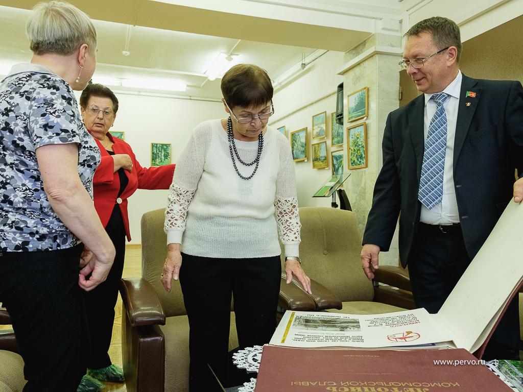 В честь 100-летия ВЛКСМ депутаты «Единой России» организовали вечер встречи для ветеранов