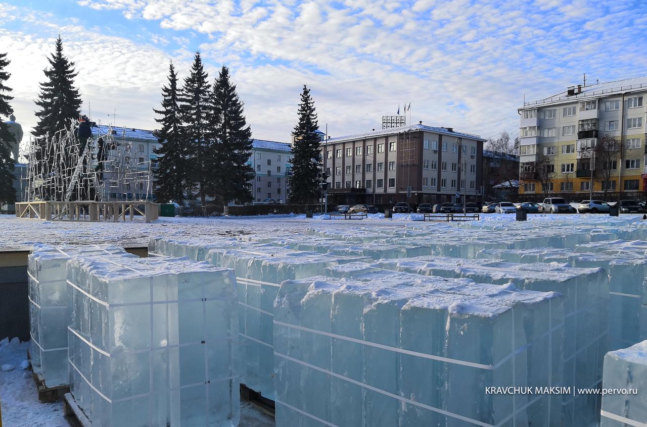 Ледяную Чусовую построят в центре Первоуральска