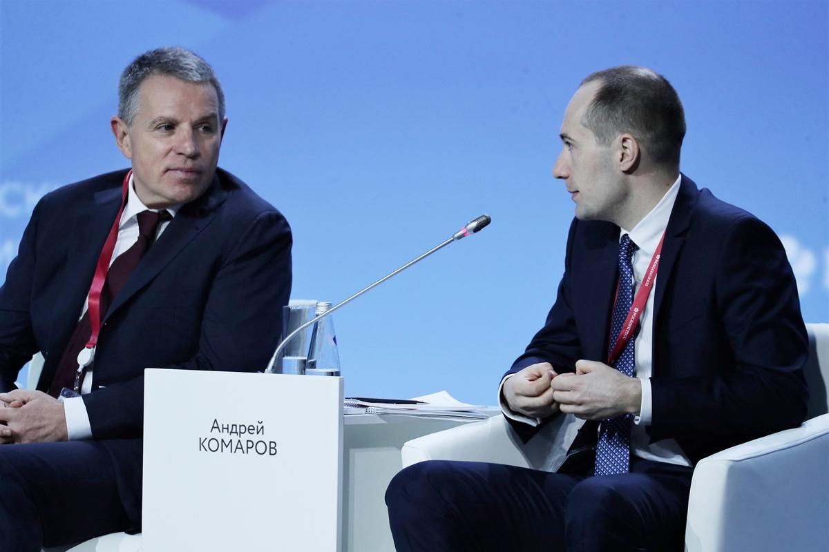 Акционер Группы ЧТПЗ Андрей Комаров выступил на пленарном заседании в рамках Российского инвестиционного форума