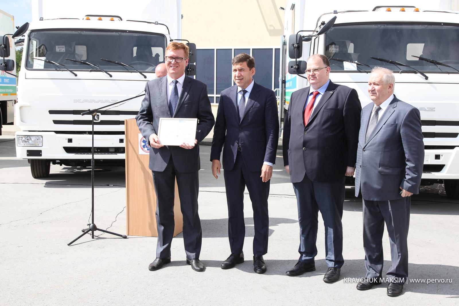 Первоуральск получил новый передвижной фельдшерско-акушерский пункт