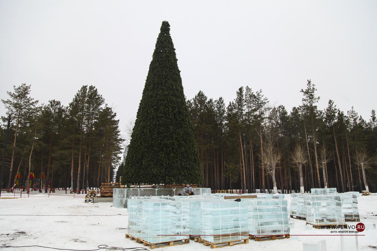 Александр Гильденмайстер: «На строительство городка потребуется более 250 тонн льда»