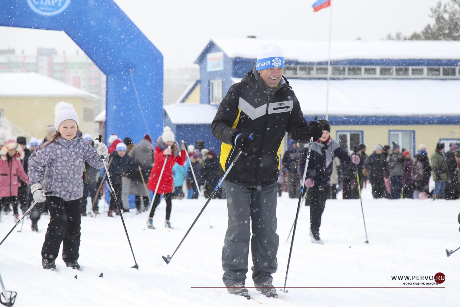 «Лыжня России» в Первоуральске: массовая и уникальная