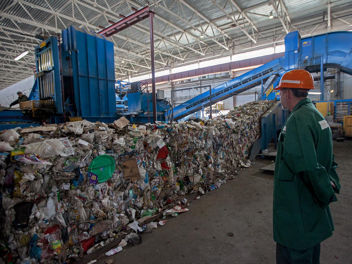фото мусорный завод картинки корзину фруктами