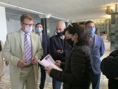 Кадыров с рабочим визитом приехал в Первоуральск