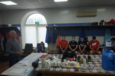 Команда «Уральский трубник» вышла из отпуска