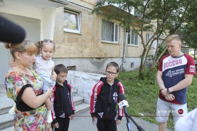 Марк Урванов помог детям из трех семей Первоуральска