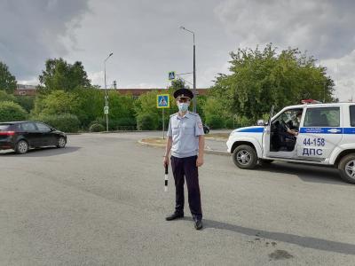 ГИБДД ловили пешеходов-нарушителей