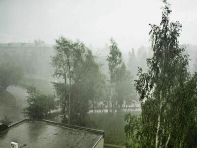 Штормовое предупреждение объявлено в Первоуральске