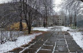 В регионах России выпал первый снег