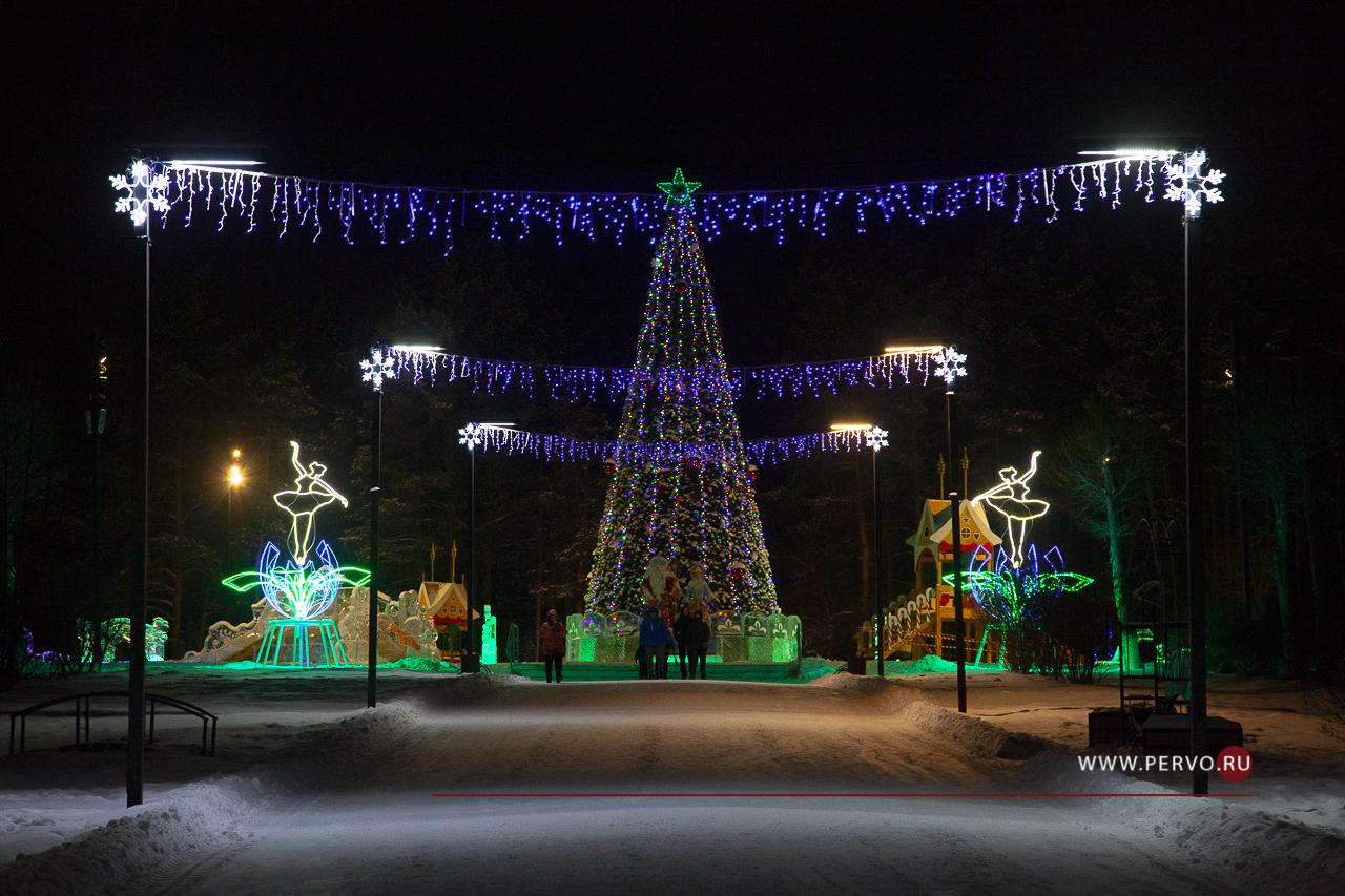 Ледовый городок в парке будет работать до конца января