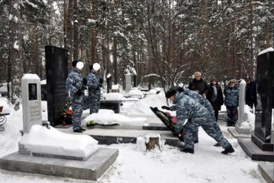 Сотрудники и ветераны ГУФСИН почтили память спецназовца - Героя России Сергея Багаева