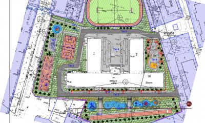 Для учеников лицея №21 построят новый стадион