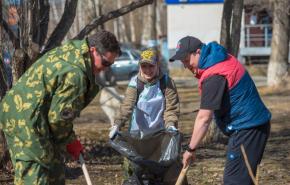 ТМК приняла участие в экологической акции в рамках Всероссийского субботника