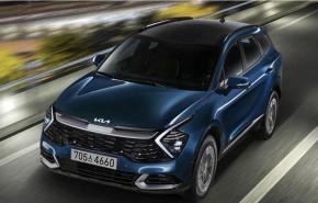 Kia представила гибридную версию кроссовера Kia Sportage нового поколения