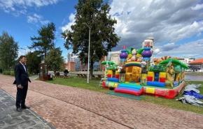 В некоторых местах Екатеринбурга запретят размещение батутов