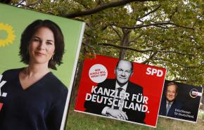 Социал-демократы победили на выборах в Бундестаг
