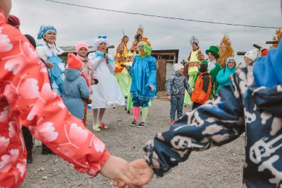 В деревне Старые Решеты прошёл праздник в честь пожарных-добровольцев