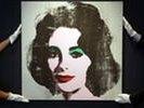 Портрет Элизабет Тейлор, написанный Энди Уорхолом, уйдет с молотка за $30 млн