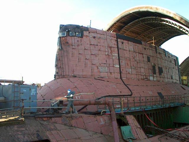 Самые большие в мире ракетные подводные крейсера стратегического назначения