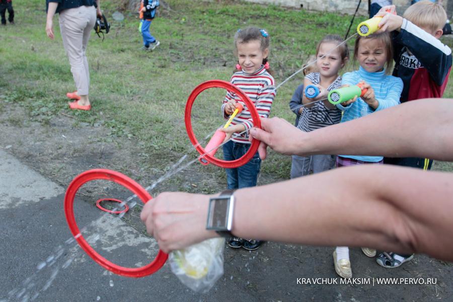 В Первоуральске свою силу, реакцию и меткость показали дети вынужденных переселенцев