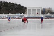 Глава Первоуральска пожелал хоккеистам «Уральского трубника» победы. Видео