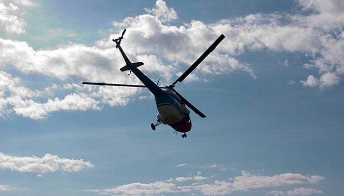 Вертолет Ми-8 упал вКрасноярском крае