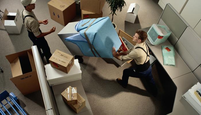 Проблема при переезде компании
