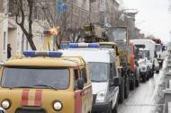 В Первоуральске прошел парад работников коммунального хозяйства