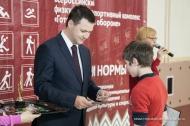 В Первоуральске вручили первые значки ГТО
