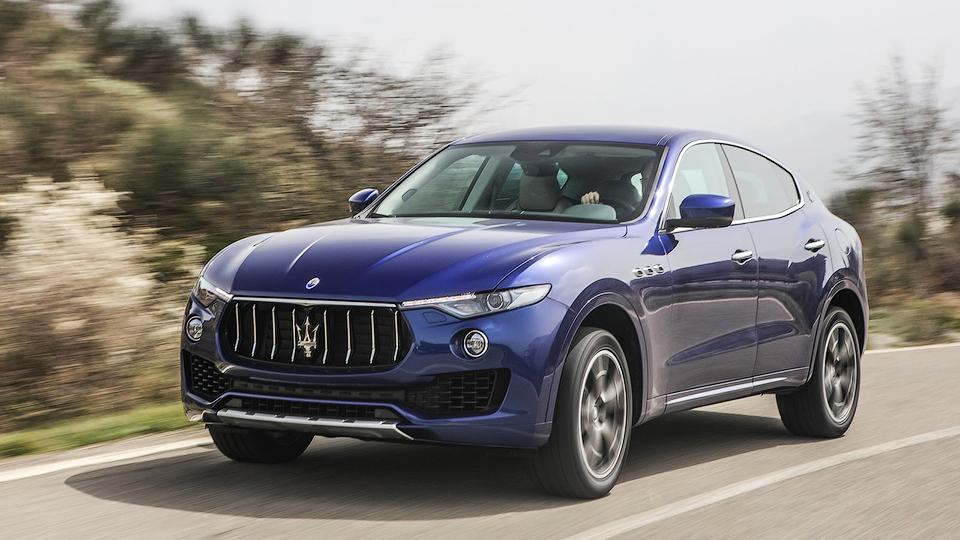 ����� �������� ���� �� Maserati Levante � ������