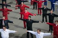 Производственной гимнастикой новотрубники встретили «День здоровья»