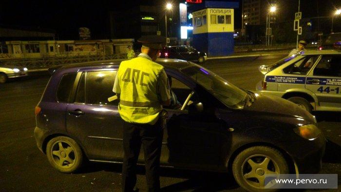 Cначала года в столице выявлено 5,7 тыс. нетрезвых водителей