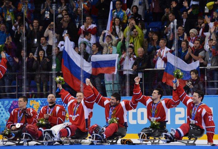 Украинских паралимпийцев торжественно проводили наИгры вРио
