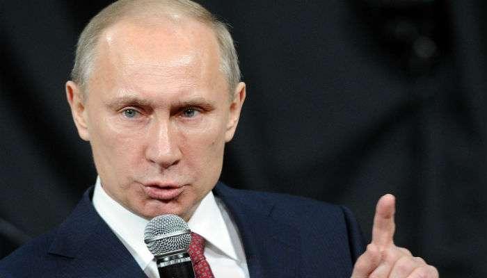 Навопрос овозможности смягчения санкций противЕС Путин ответил: «Фиг им!»