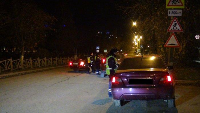Задва часа работники ГИБДД словили вПетрозаводске несколько нетрезвых водителей