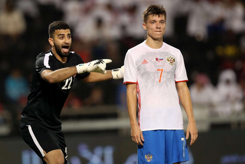 Сборная Российской Федерации пофутболу уступила Катару срезультатом 1:2
