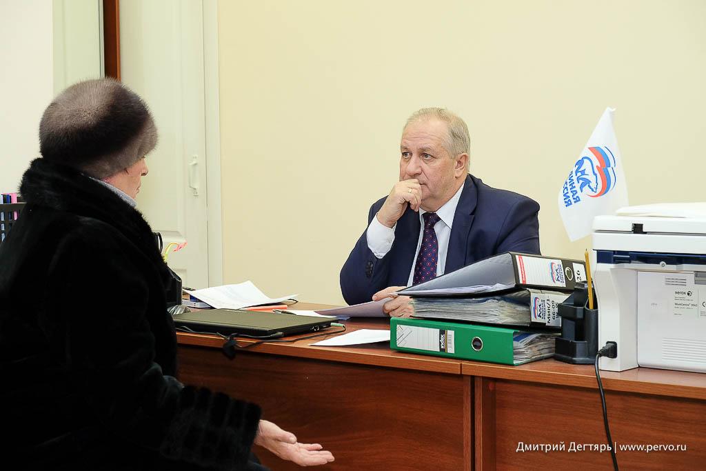 В Первоуральске продолжает работать общественная приемная «Единая Россия»