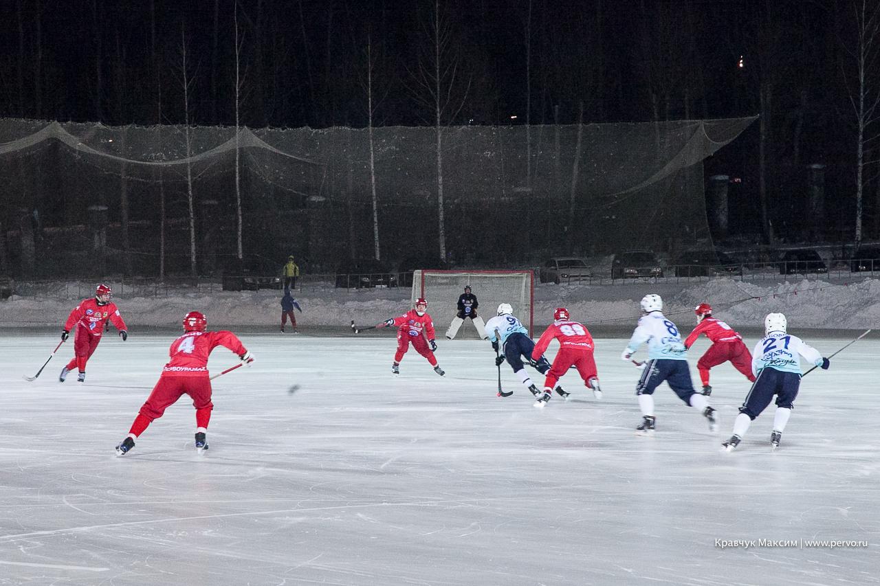 «Байкал-Энергия» выиграла второй матч в Первоуральске