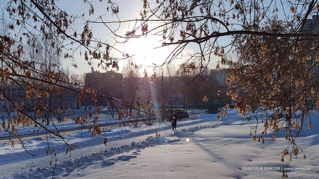 Декабрь принес в Первоуральск похолодание