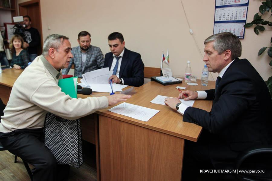 В администрации города прошел прием граждан