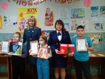 В Первоуральске подвели итоги детского творческого конкурса «Безопасный Новый год»