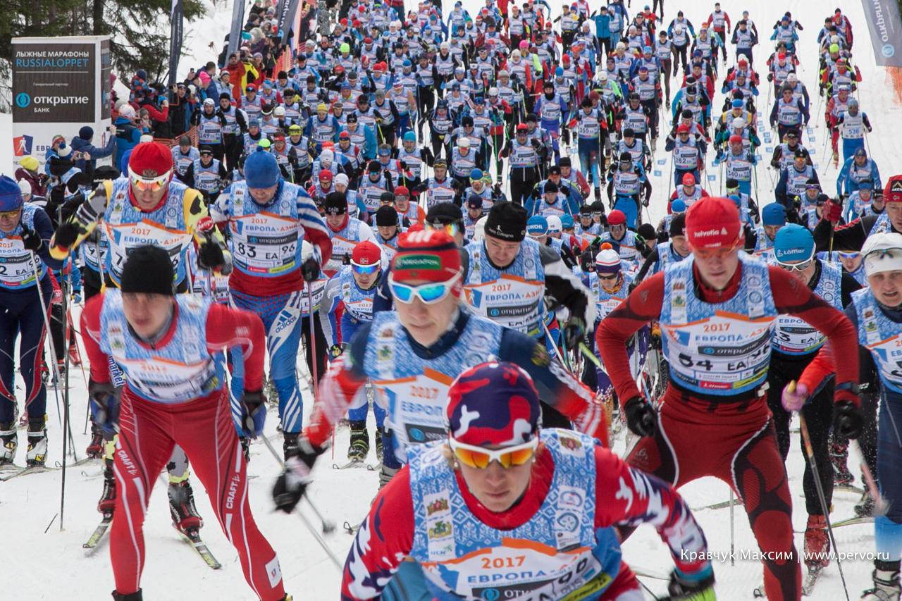 XXXV лыжный марафон «Европа-Азия 2018» пройдет 25 февраля