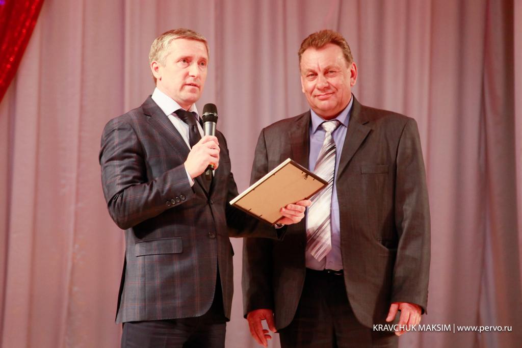 Валерий Хорев поздравил ПЖКУ Динас с юбилеем!