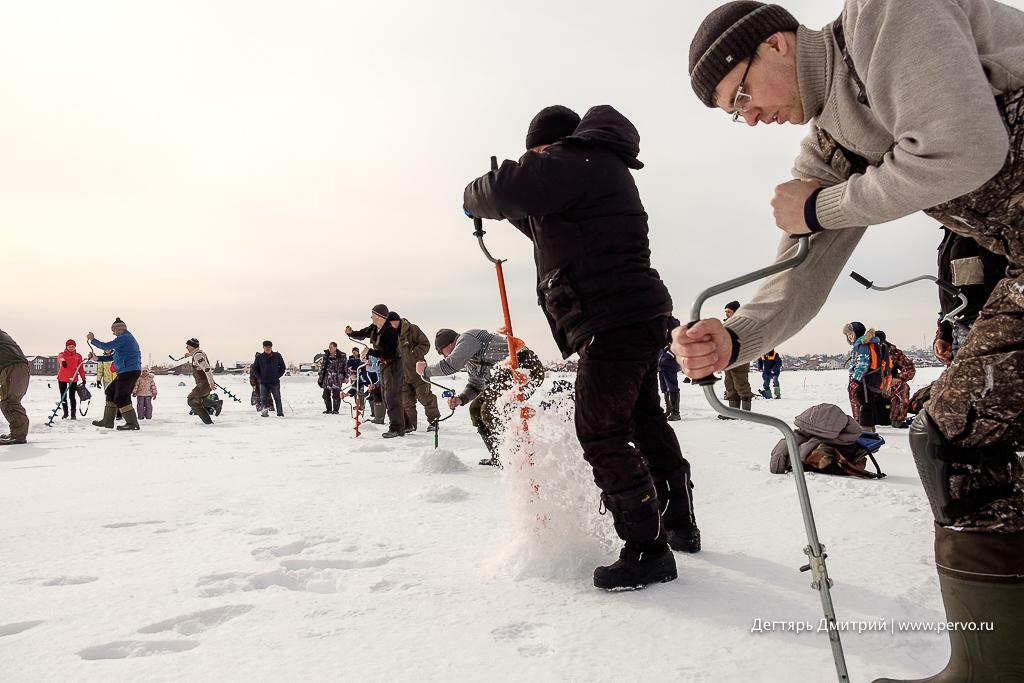 В Билимбае прошли соревнования по ловле рыбы «Весенняя мормышка»
