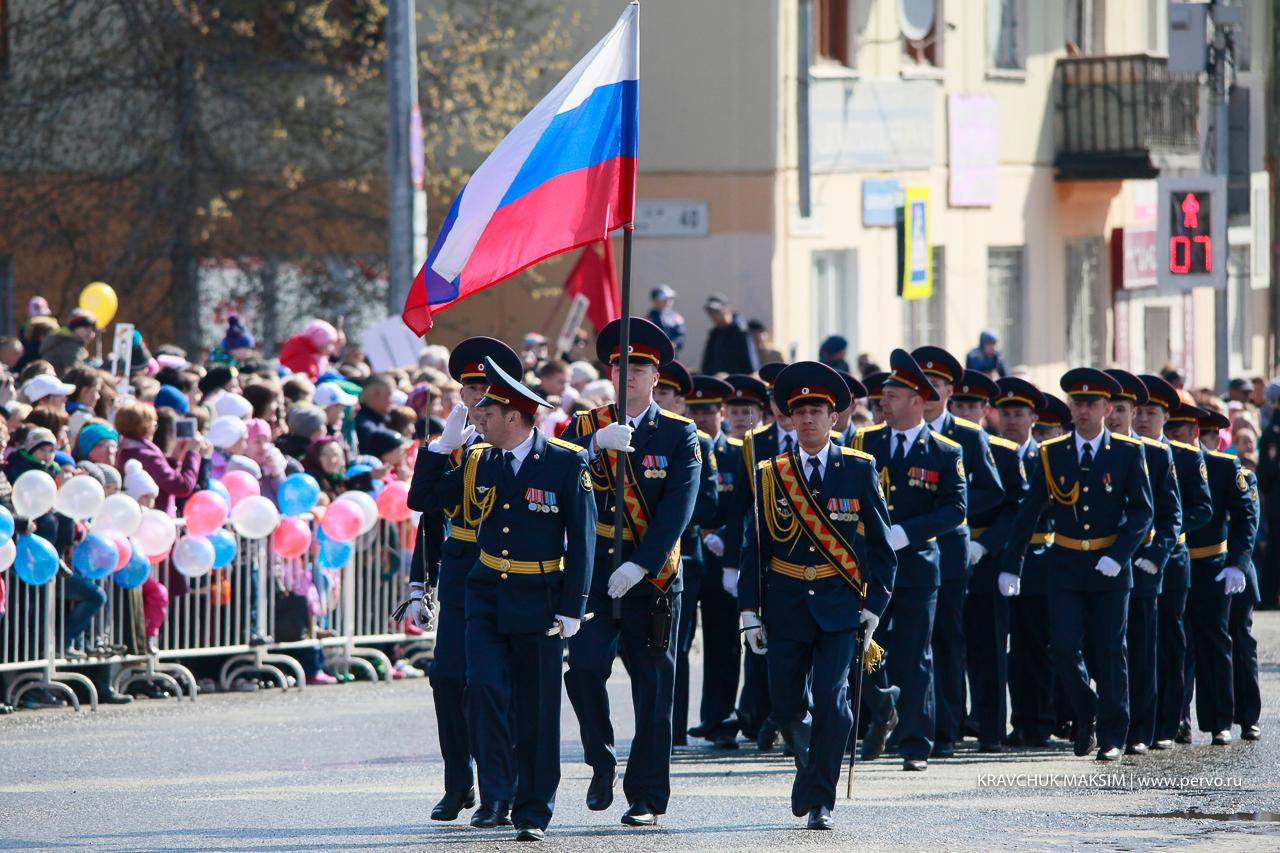 День Великой Победы отметил Первоуральск
