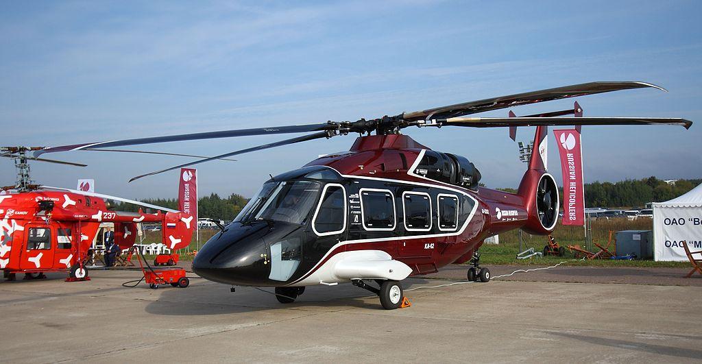 Рогозин показал первый полет вертолета Ка-62